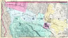 Farm Ownership Map 006, Murray 2, Livermore, Rancho San Ramon, Rancho Valley de San Jose, Alameda County 1878